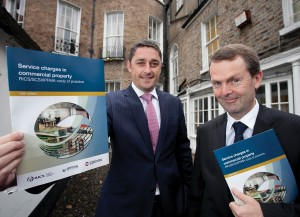 Pictured at the recent launch of the Society's guide to service charges for commercial property were Chartered Surveyors Roy Dellar and Jerome O'Connor.Pictured at the recent launch of the Society's guide to service charges for commercial property were Chartered Surveyors Roy Dellar and Jerome O'Connor.