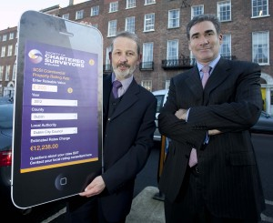 Chartered Surveyors Launch of New Rates App. Photo Chris Bellew / Fennells