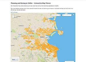 The Planning and Zoning viewer