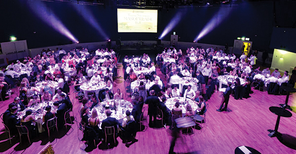 This year's Young Surveyors Ball was the largest in the Society's history, with over 320 members attending.